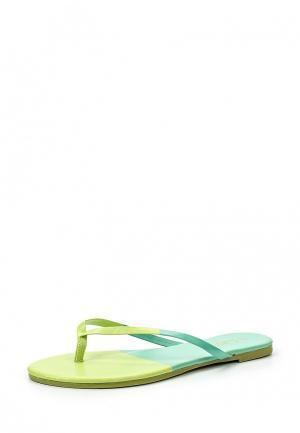 Сланцы Sweet Shoes. Цвет: зеленый