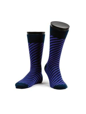 Infinity purple носки мужские MARREY. Цвет: темно-синий, фиолетовый