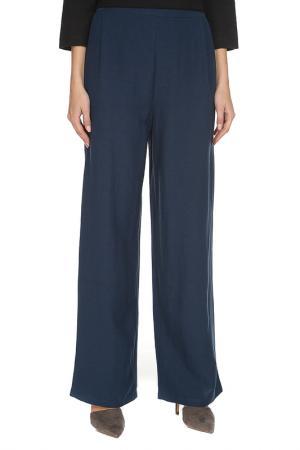 Расклешенные брюки с карманами Cyrille Gassiline. Цвет: синий