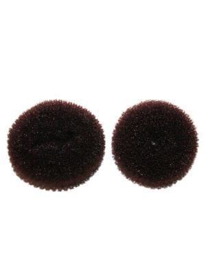 Бублики для волос Lola. Цвет: темно-коричневый