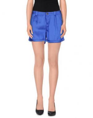 Повседневные шорты MORGAN DE TOI. Цвет: синий
