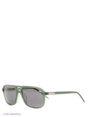 Солнцезащитные очки LM 540S 03 La Martina. Цвет: хаки