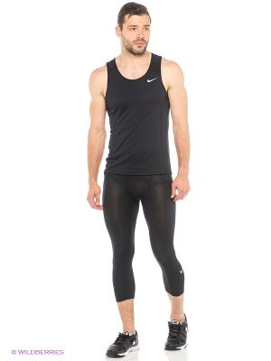 Тайтсы COOL 3/4 TGT Nike. Цвет: черный
