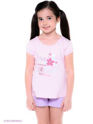 Спортивный костюм BAGIGI. Цвет: бледно-розовый, сиреневый