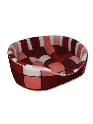 Лежак для животных Лежаночка SMART-TEXTILE. Цвет: коричневый