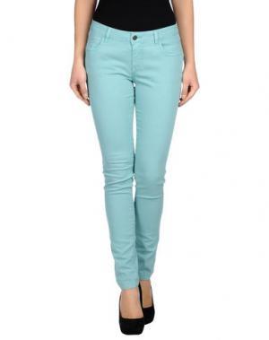 Повседневные брюки GOLD CASE. Цвет: светло-зеленый