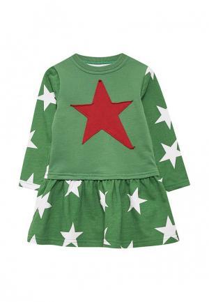 Платье КотМарКот. Цвет: зеленый
