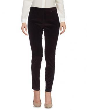 Повседневные брюки FARHI BY NICOLE. Цвет: баклажанный