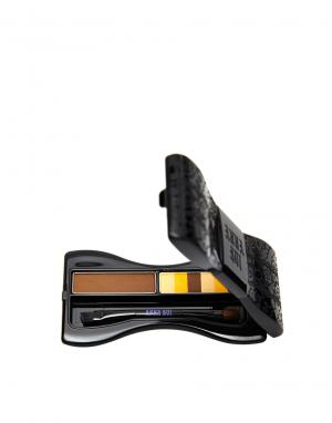 Anna Sui Компактный набор для бровей. Цвет: коричневый