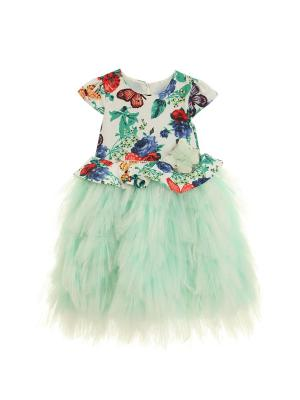 Платье+брошь для девочки lindissima