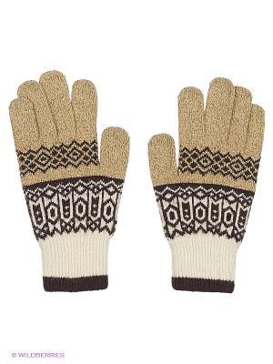 Перчатки Maxval. Цвет: бежевый