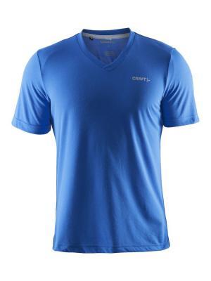 Футболка Craft. Цвет: голубой