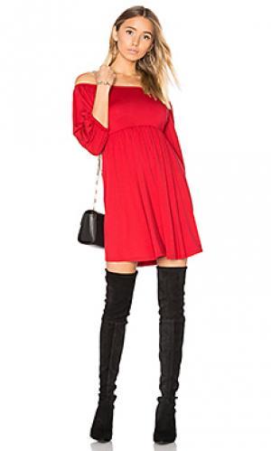 Мини платье nan Rachel Pally. Цвет: красный