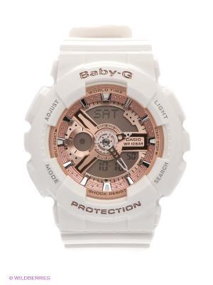 Часы Baby-G BA-110-7A1 CASIO. Цвет: золотистый, белый