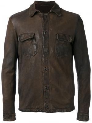 Shirt jacket Salvatore Santoro. Цвет: коричневый