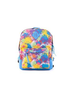 Рюкзак VERSADO. Цвет: голубой, оранжевый, желтый