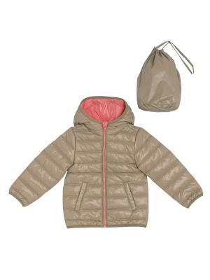 Куртка CHICCO. Цвет: бежевый