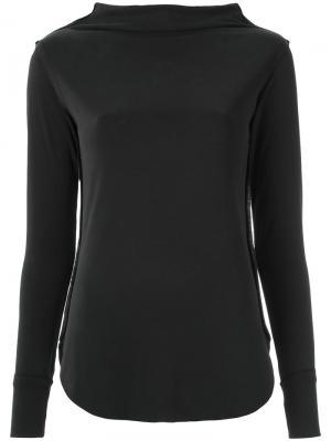 Long sleeve blouse Uma   Raquel Davidowicz. Цвет: чёрный