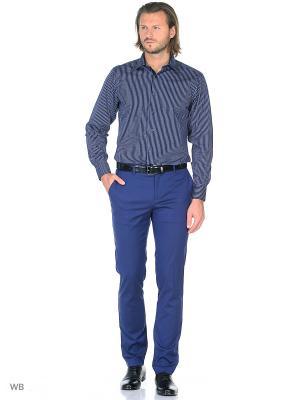Рубашка Conti Uomo. Цвет: синий