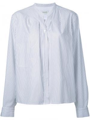 Wrap-over shirt Lemaire. Цвет: белый