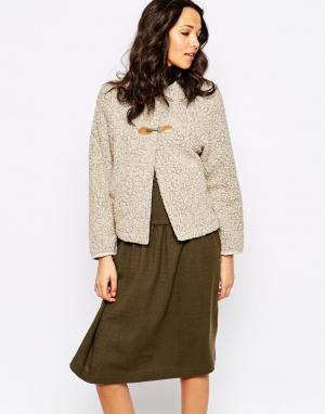 Sessun Куртка Saguaro. Цвет: бежевый