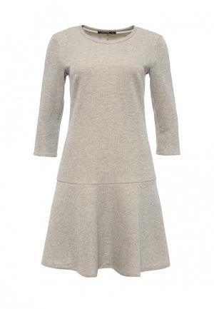 Платье Tom Farr. Цвет: бежевый