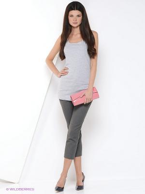 Блузка YUVITA. Цвет: серый