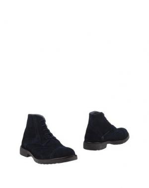 Полусапоги и высокие ботинки ALV ANDARE LONTANO VIAGGIANDO. Цвет: темно-синий