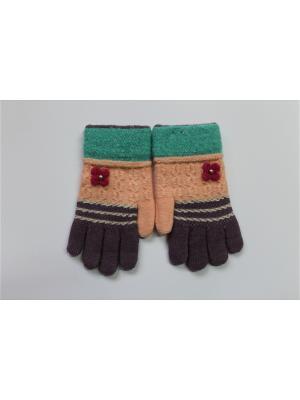 Перчатки Cascatto. Цвет: персиковый, фиолетовый