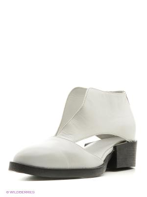 Туфли Pixy. Цвет: белый
