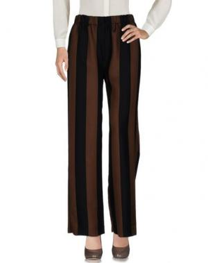 Повседневные брюки TELA. Цвет: коричневый