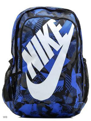 Рюкзак NIKE HAYWARD FUTURA 2.0 - PRIN. Цвет: черный, синий, белый