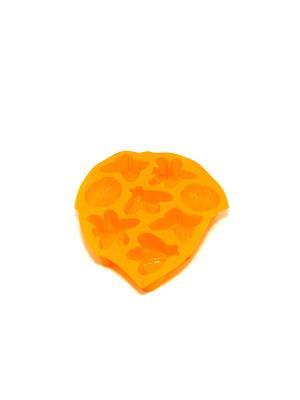 Форма силиконовая 8 ячеек, 28х21х3см, Пчелка. Vetta. Цвет: желтый