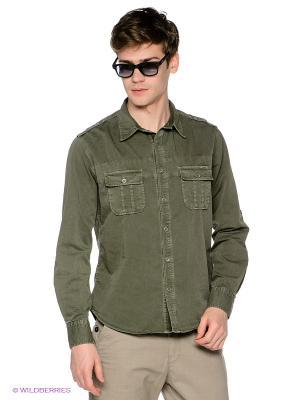 Рубашка Meltin'Pot. Цвет: зеленый