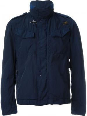 Повседневная куртка Fay. Цвет: синий