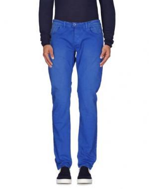 Джинсовые брюки (M) MAMUUT DENIM. Цвет: лазурный