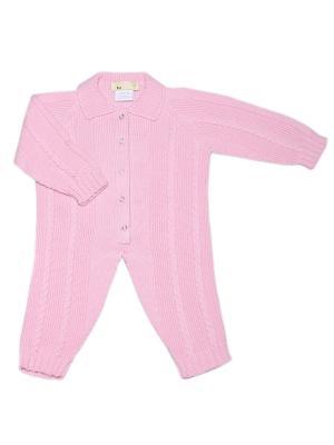 Комбинезон R&I. Цвет: розовый