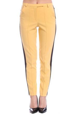 Брюки Moda di Chiara. Цвет: yellow and black