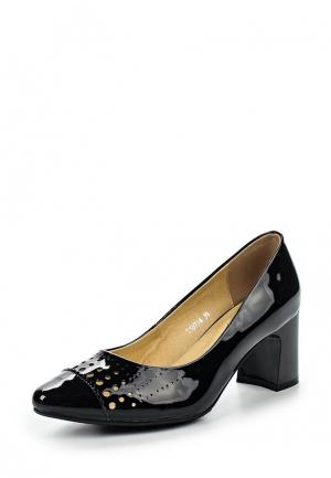 Туфли Ascalini. Цвет: черный