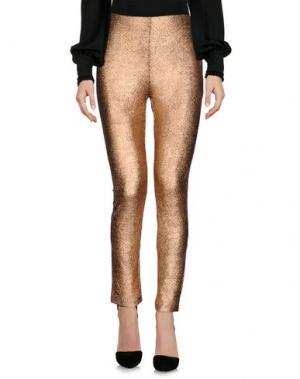 Повседневные брюки GOA. Цвет: медный