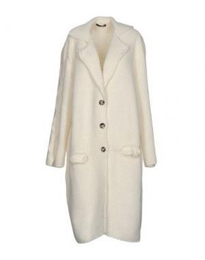 Легкое пальто B.YU. Цвет: слоновая кость