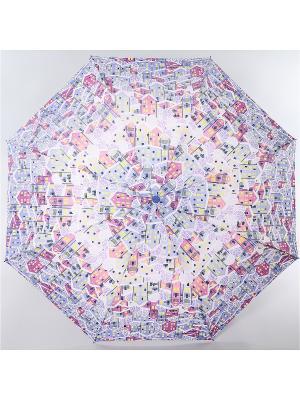Зонт Airton. Цвет: серо-голубой, бледно-розовый