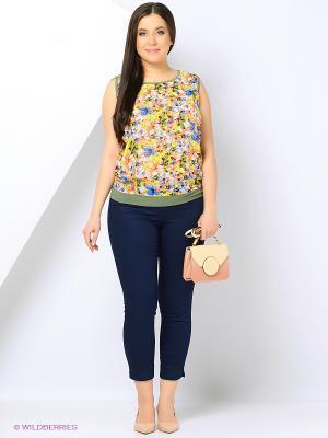 Блузка Milana Style. Цвет: желтый