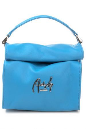 Сумка-клатч Renato Angi. Цвет: голубой