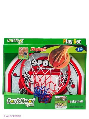 Набор баскетбольный Far&Near. Цвет: красный