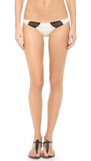 Плавки бикини Bruce Tyler Rose Swimwear. Цвет: золотой
