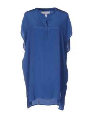 Блузка BRAND UNIQUE. Цвет: пастельно-синий