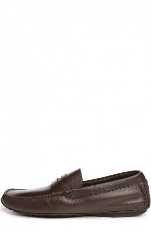 Мокасины Aldo Brue. Цвет: темно-коричневый
