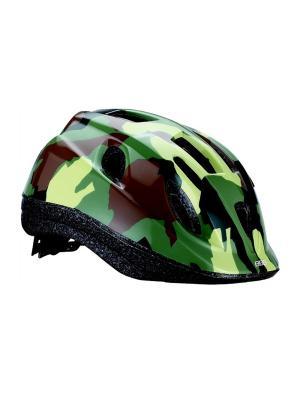 Летний шлем BBB Boogy камуфляж. Цвет: желтый