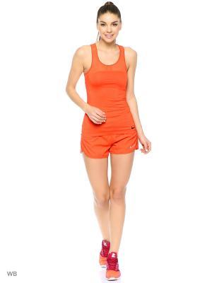 Шорты W NK FLX SHORT 3IN RIVAL Nike. Цвет: оранжевый